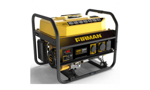 Firman P03601 Portable Generator - 3650 Running Watts/4550 Starting Watts