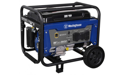 Westinghouse WGen3600 - Portable Gasoline Generator for Home Standby & RV