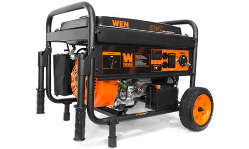 WEN 56475 Gasoline Powered Generator with Electric Start