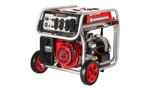 A-iPower SUA12000E - 12,000 Watt Generator with Weels and Electric Start