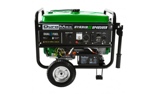 Duromax XP4850EH Dual Fuel Generator with Electric Start