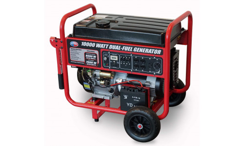 All Power America APGG10000GL Dual Fuel Generator (Gasoline+Propane)