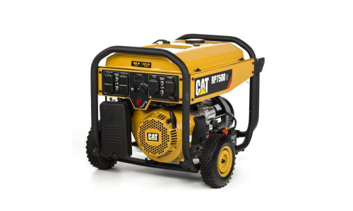 Cat RP7500E Gasoline Generator (7500 Running Watts/9375 Starting Watts)