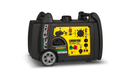 Champion 100263 (3100 Watt) - Dual Fuel Generator with Elecrtric Start
